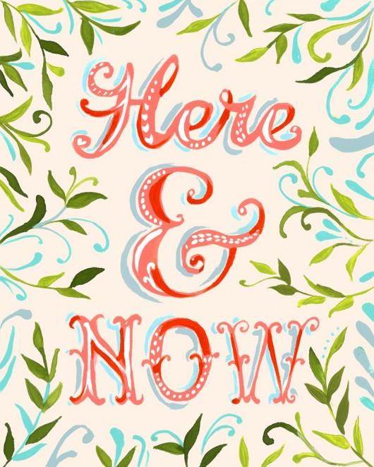 Ici et maintenant