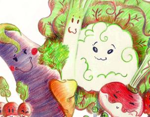 Légumes personnifiés