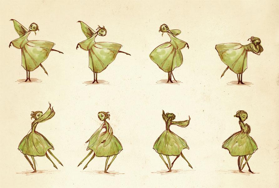 Fée qui danse