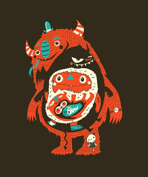 Monstre + cornes