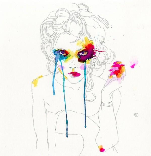 Yeux + couleurs