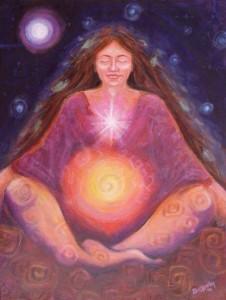 Spiritualité de la femme - atelier de yoga
