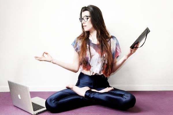 """Dim. 21/10/18 – Atelier Yoga & développement personnel """"Se nourrir du Yoga au quotidien"""" avec Oriane Happylifestyle"""