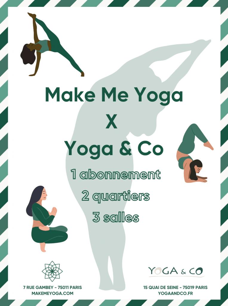 Make me yoga et Yoga & Co s'associent !